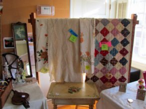 Quilts at 2015 Old Sloop Fair