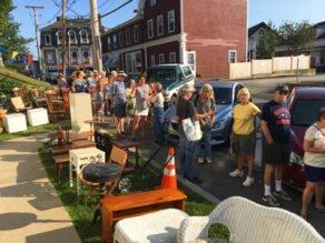 Patrons await Old Sloop Fair opening